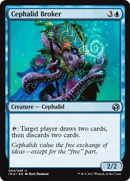 Wizards of the Coast Cephalid Broker - Iconic Masters