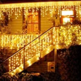 Catena Luminosa, Cascata led, Luci cascata, Strisce LED, 216 LED 5M Led Luci, Luci Stringa...