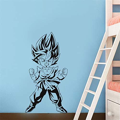 yaonuli Cartoon Vinyl Familiendekoration Kinderzimmer Tapete abnehmbare Wandaufkleber 69X46cm