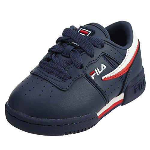 Fila Baby's Original Fitness Shoes Fila Navy/White/Fila Red 10