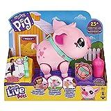 Little Live - Mon Petit Cochon, Animal interactif Qui Marche, Danse et comme (Famosa LPW00000)