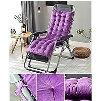 日ヤード-版、ハイバックパッド枕、冬のリクライニングクッションオフィスノンスリップマット,紫色,130 x 50 x 10 cm