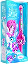 Of Dragons, Fairies, and Wizards Fairy Fern Hand Held Wand, Pink