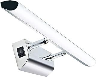 Luxvista 9W 57CM Ángulo Ajustable Aplique Espejo Baño Led