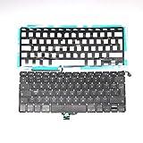 L&J - Teclado de repuesto para Macbook Pro 13' A1278 2009 2010 2011 2012 Español SP con retroiluminación