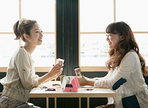 タカラトミースマートフォン用プリンタープリントスSAKURA(桜)チェキフィルム使用TPJ-03SA