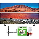 SAMSUNG UN65TU7000 65-inch 4K Ultra HD Smart LED TV (2020 Model) 360 Design Bundle with TaskRabbit Installation Services + Deco Gear Wall Mount + HDMI Cables + Surge Adapter
