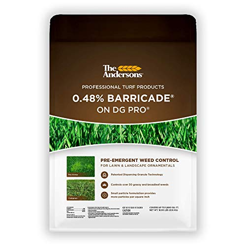 The Andersons Barricade Professional-Grade Granular Pre-Emergent Weed Control - Covers up to 5,800 sq ft (18 lb)