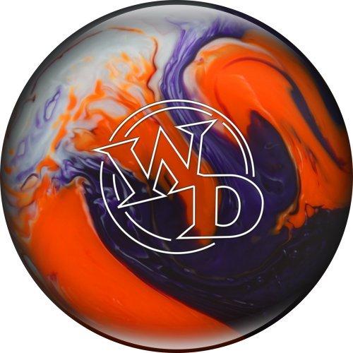 Columbia 300weiße Punkt Kristall Sunset Bowling Kugel, violett/orange/weiß, 9LB