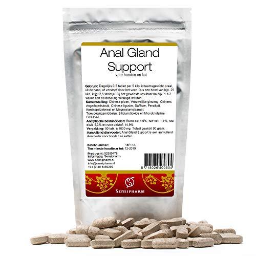 Sensipharm Anal Gland Support für Hunde 90 Tabletten - Hilft Natürlich Bei Analdrüsen & Analdrüsenentzündung