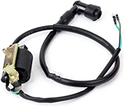 Chanoc 2 Wires Ignition Coil for 4 Stroke 50cc 70cc 90cc 110cc ATV Dirt Bike Honda XR/CRF50 Clones Scooter Moped Go Kart
