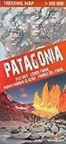 Patagonien Trekking Topographische Karte 1:160.000 - Fitz Roy, Cerro Torre, Perito Moreni Gletscher, Torres del Paine