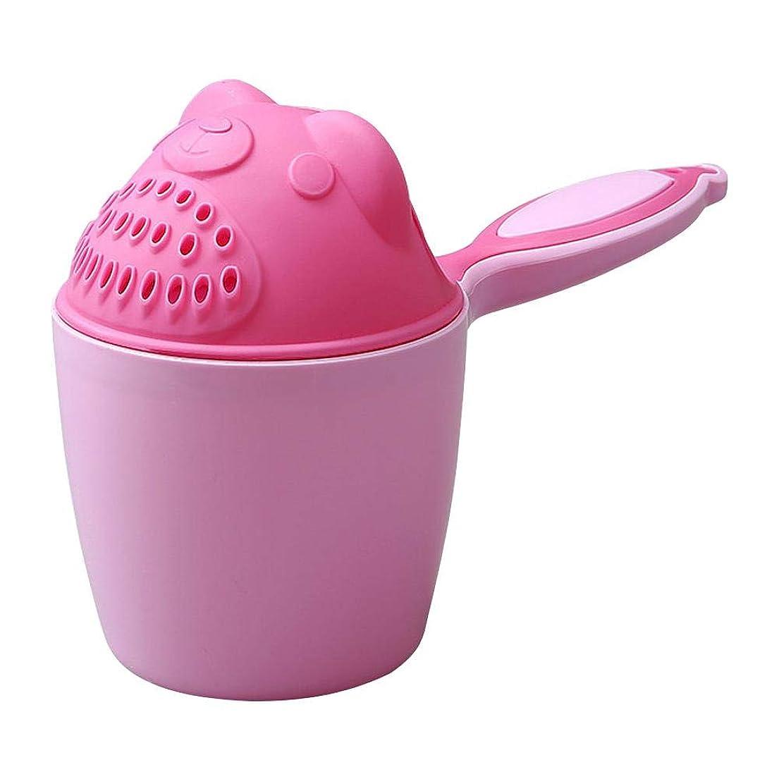 できればジュース姓Domybest シャンプーカップ 洗髪カップ 散水カップ お風呂おもちゃ 可愛い 熊 ベビー 赤ちゃん バスおもちゃ 洗髪用品 シャワーバスカップ スプーン 子供用 水遊び