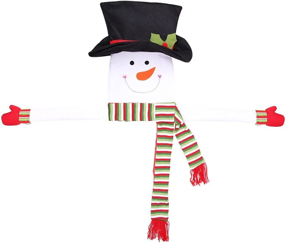 Ayaaa Max 68% OFF Christmas Tree Decoration Wreath Snowman Quality inspection Christm