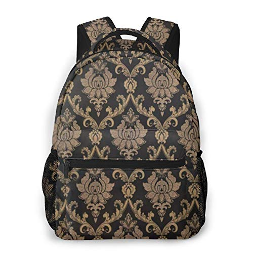 European Style Gold Fashion Pack Bag Teen Backpacks for Girls Children/Adult
