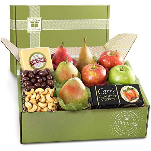 Fruit and Cheese Deluxe Gift Box