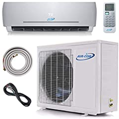 ENJOY A COMFY HOME no matter the outside temperature. Heat, cool and dehumidify up to 1,000 sf with our ductless mini split when outside temperatures are as low as -4F. SAVE YOUR MONEY. A whisper quiet ductless air conditioner uses very little electr...