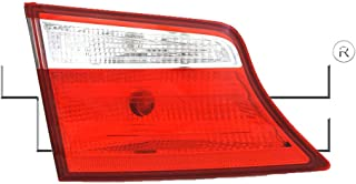 Fits 2013-2016 Hyundai Santa FE Driver Side Rear Inner Tail Light NSF Certified With Bulbs Included HY2802122 - Replaces 92405-B8050 ;GLS|LIMITED; 7 Seat; Halogen