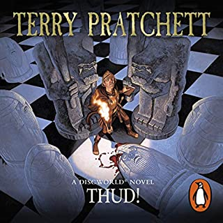 Thud!                   By:                                                                                                                                 Terry Pratchett                               Narrated by:                                                                                                                                 Stephen Briggs                      Length: 10 hrs and 15 mins     175 ratings     Overall 4.9