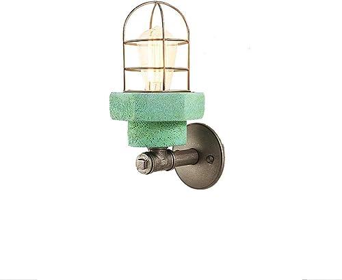 ZY Américain Europe du Nord Lumières de salon européen chambre de chevet chambre à coucher ampoule E27 minimaliste moderne Edison ampoule Diamètre 15 & times; hauteur 32cm (couleur  vert)