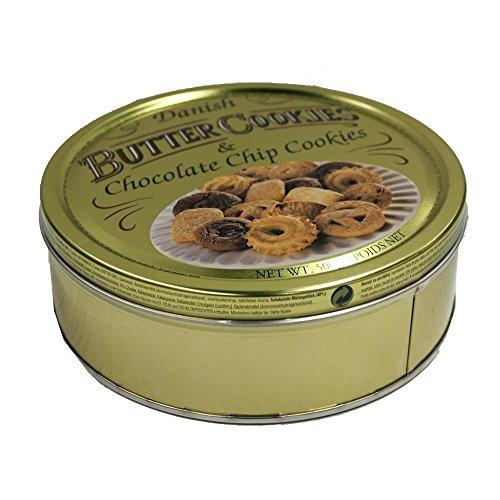 Danish Butter Cookies & Chocolate Chip Cookies (500g)