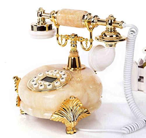 ZXL Jade creatieve telefoon Antieke Europese stijl Pastorale Retro Telefoon Huishouden Bureaustoel Telefoon (Kleur: # 3)