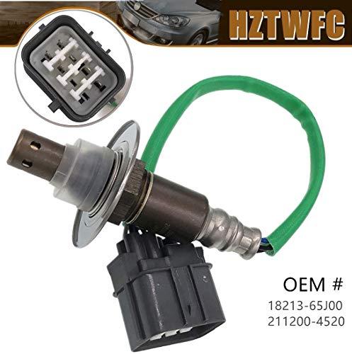HZTWFC Nouveau capteur d'oxygène OEM # 18213-65J00 211200-4520 pour G-VITARA 1.6L 2.0L 2006-2015