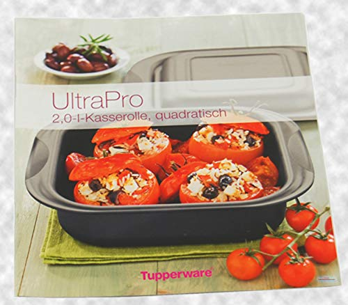Tupperware® receptenboek/recepten voor UltraPro 2,0 L. vierkant. Brood broodjes oploop