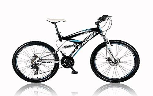 tretwerk DIREKT gute Räder Leader Energy 26 Zoll Mountainbike Schwarz/Blau, Jugend-Fahrrad, Herren-Fahrrad