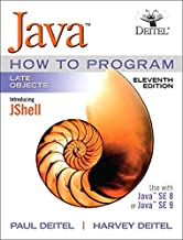 Java How To Program, Late Objects (11th Edition)