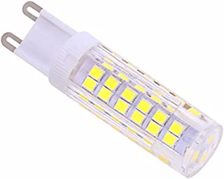 LED Bulbs LED Dimmable G4// GY6.35// G9 5W T 80 SMD 4014 320-350 Lm Warm White//Cold White AC200-240V Bi-pin Lights 5PCS Daylight comfortable glow Color : Cool white, Shape : GY6.35