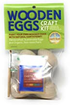 product image for Natural Earth Paint Wooden Eggs Craft Kit