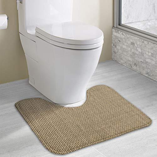 Ventouse WC de qualit/é Ensemble WC en Plastique r/ésistant au Look Assorti Brosse WC Moderne pour Salle de Bain Gris fonc/é mDesign Set de 2 Brosse Toilette et Ventouse