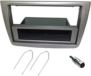 Montage Kit für 1DIN/2DIN Autoradios, für Alfa Romeo Mito, grau silber