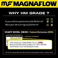 MagnaFlow 24233 ダイレクトフィット触媒コンバーター(非CARB準拠)。