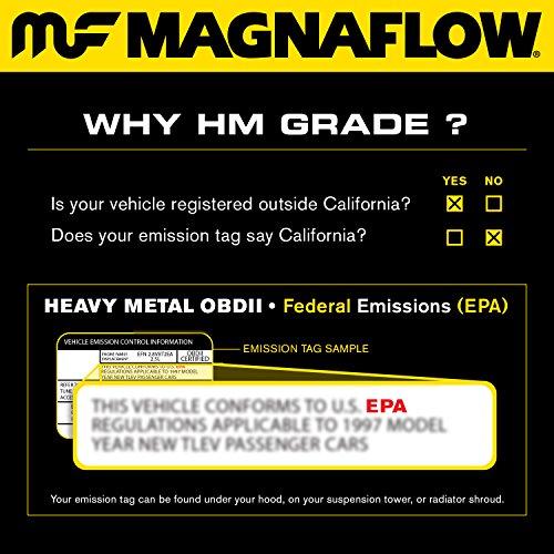 MagnaFlow 50425 Direct Fit Catalytic Converter (Non CARB compliant)