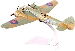CMO Aeromodelismo, Bombardero de luz Bristol Blenheim Mki Modelo De Aleación Escala 1/72, Juguetes y Regalos para Adultos, 7.1X 9.1 Pulgadas