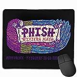 DSFAA Alfombrilla de ratón Phish Riviera Maya Alfombrillas de ratón para Juegos Grandes Cute Mat
