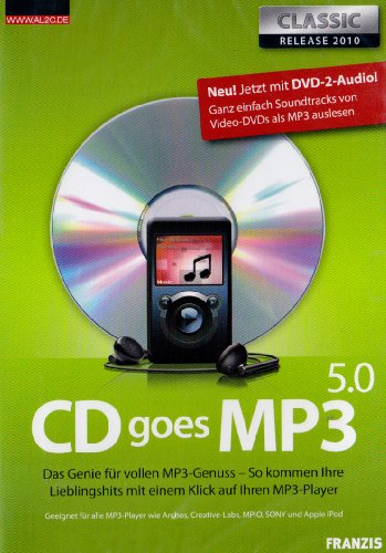 CD goes MP3 5.0 Classic