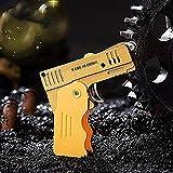 Pistola de desformación de fuego, butano, soplete de gas, encendedor de fuego, resistente al viento, rueda de molienda, linterna...