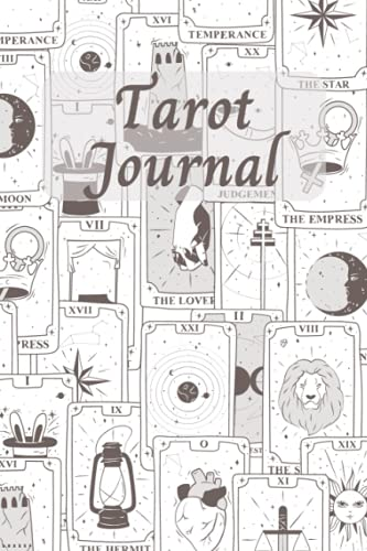 Tarot Journal: Tarot Diary for Daily Card and Three Card Spread Reading - Tarot Journey of Being Pre
