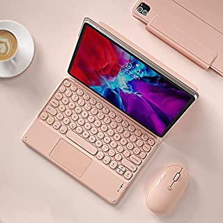 حافظة لوحة مفاتيح Fegishily، مناسبة لجهاز iPad Pro 2020 21 بوصة، لوحة مفاتيح بلوتوث مع لوحة اللمس وحامل قلم، مجموعة مجموعة...