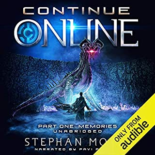 Continue Online Part One: Memories audiobook cover art