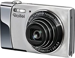 Rollei Powerflex 470 Digitalkamera (14 Megapixel, 7 fach opt. Zoom, opt. Bildstabilisator, 7,62 cm (3 Zoll) Display, HD Video Auflösung) silber
