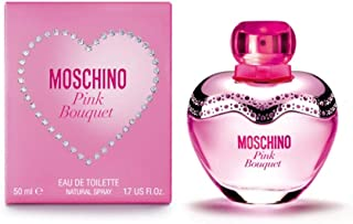 Moschino Pink Bouquet For Women, 50 ml