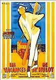Poster 50 x 70 cm: Die Ferien des Monsieur Hulot