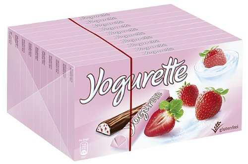 Yogurette 10 Tafeln, 1er Pack (1 x 1 kg Packung)