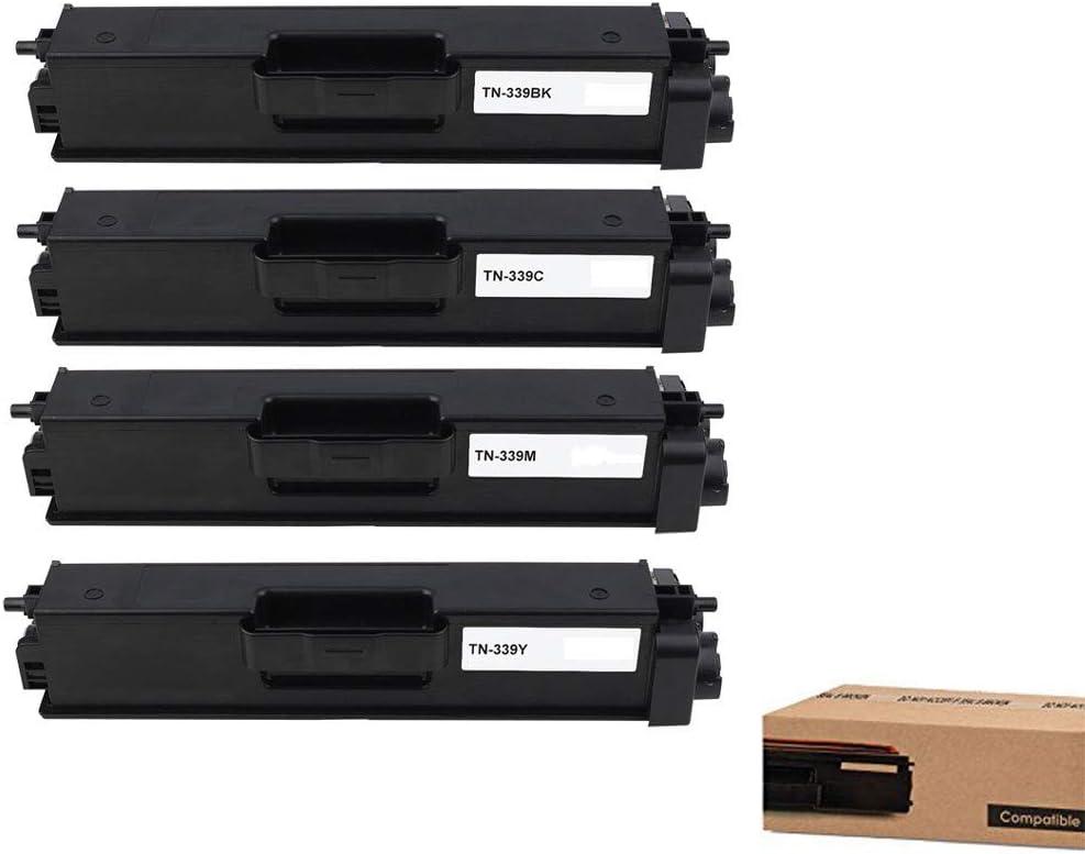 GreenEngineered Compatible TN399 (TN-399) Black, Cyan, Magenta, Yellow Set for Supported Printers: Brother HL-L9200CDWT / L9200CDW / MFC-L9550CDWT / L9550CDW