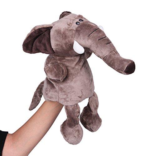 La vogue Puppet/Marionetas De Mano De Juguete Para Bebé Niños Elefante Marrón