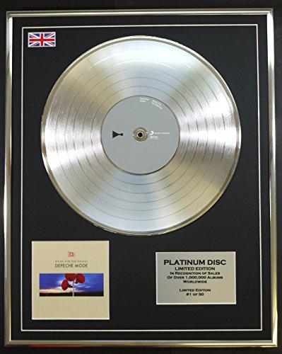 DEPECHE MODE/LTD Edicion CD platinum disc/MUSIC FOR THE MASSES